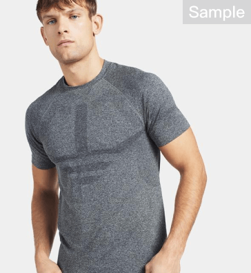 Men Gyms Fitness Short sleeve T-shirt quick-dry