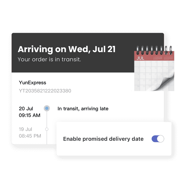Предсказание даты доставки
