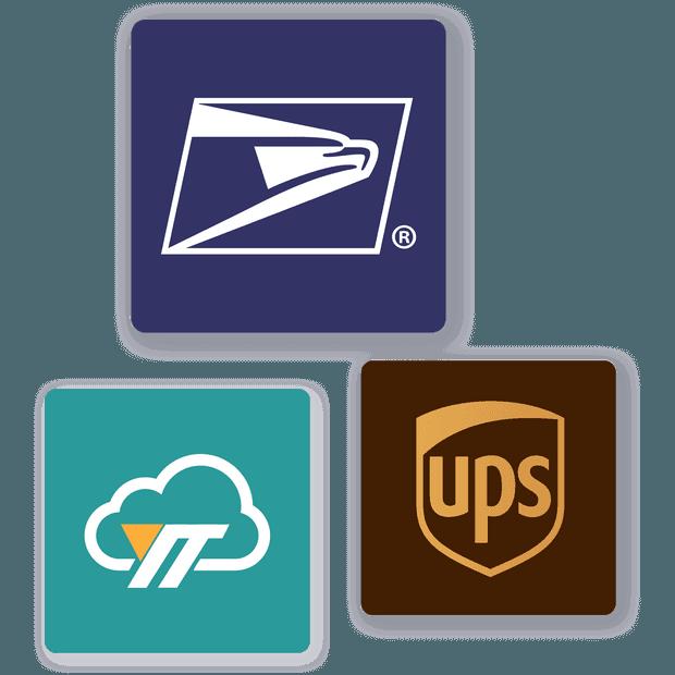 我們與 YunExpress、UPS 和 USPS 合作