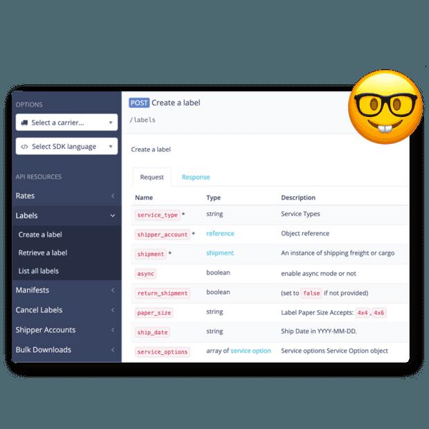 API de envío de múltiples Compañías por carrier