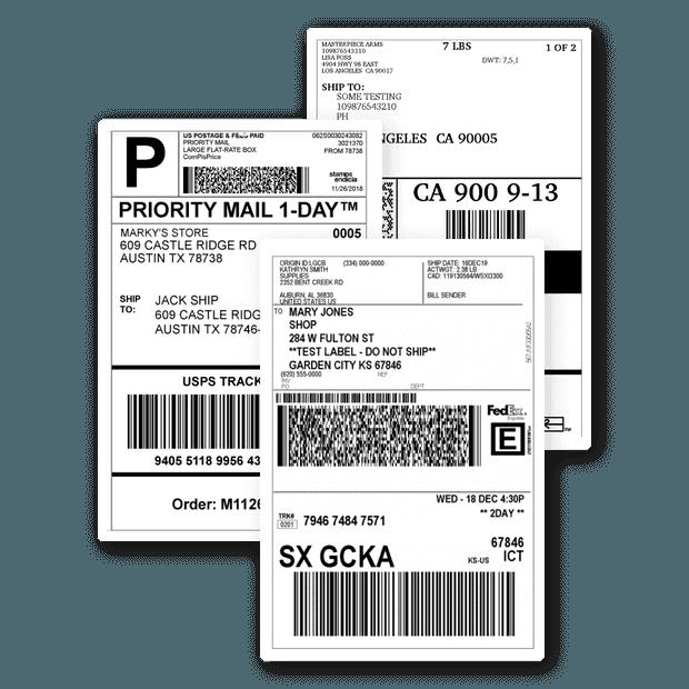 經承運商認證的運輸標籤