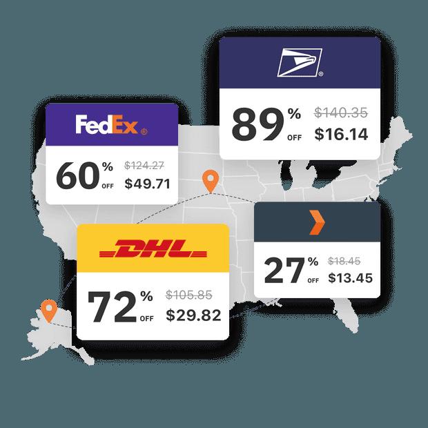 El último software y API de envío de múltiples Compañías de carrier