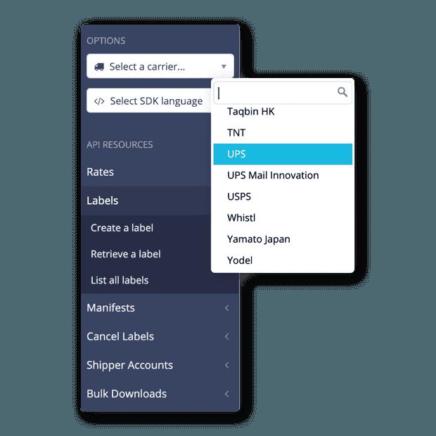 Una API para Agencias de mensajería